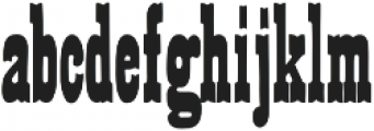 French Clarendon Orn otf (400) Font LOWERCASE
