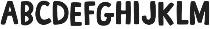 French Fries otf (400) Font UPPERCASE