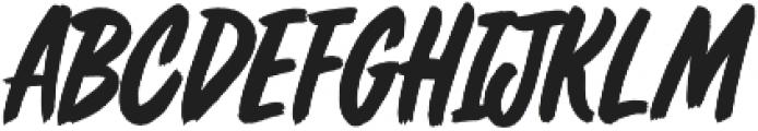 Fresh Daily ttf (400) Font UPPERCASE