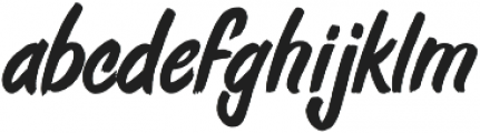 Fresh Daily ttf (400) Font LOWERCASE