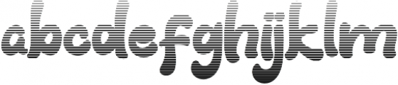 Fresh Grapes Gradient otf (400) Font LOWERCASE