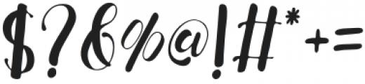 Fresh Hansler Duo Regular otf (400) Font OTHER CHARS