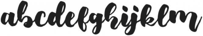 Fresh Hansler Regular otf (400) Font LOWERCASE