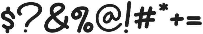 Fresh Kiwi otf (400) Font OTHER CHARS