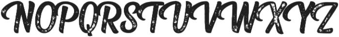 Fresh Press Caps Printed otf (400) Font UPPERCASE