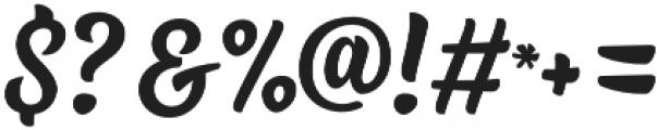 Fresh Press Caps otf (400) Font OTHER CHARS
