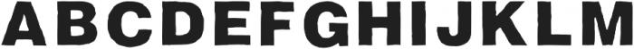 Fresh Regular otf (400) Font LOWERCASE