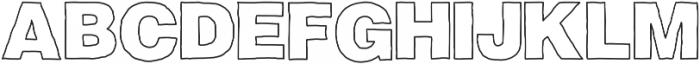 Fresh Simple otf (400) Font UPPERCASE