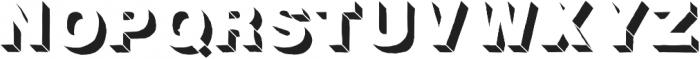 Fresh Volume FX otf (400) Font UPPERCASE