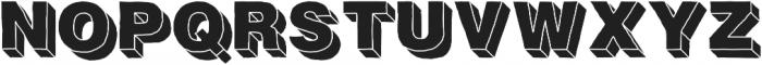 Fresh Volume otf (400) Font UPPERCASE