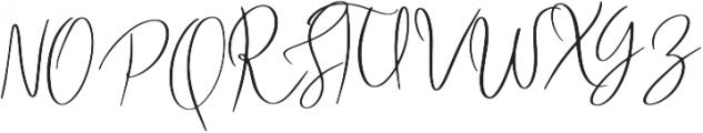 FreshBakery otf (400) Font UPPERCASE