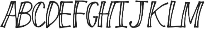 FreshBerry ttf (400) Font UPPERCASE