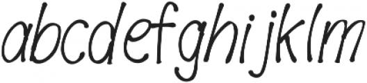 FreshBerry ttf (400) Font LOWERCASE