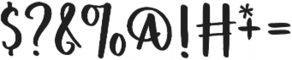 FreshPicked Sans otf (400) Font OTHER CHARS
