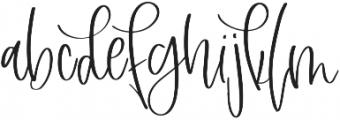 Freshwater Extras Regular otf (400) Font UPPERCASE