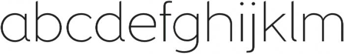 Freud Extra Light otf (200) Font LOWERCASE