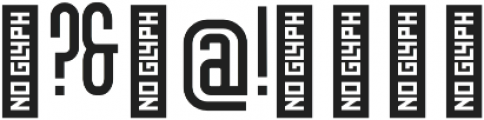 Friedrichshain otf (400) Font OTHER CHARS