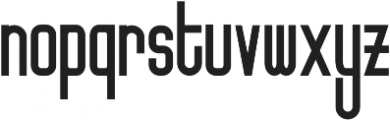 Friedrichshain otf (400) Font LOWERCASE