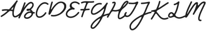 Friends Forever otf (400) Font UPPERCASE