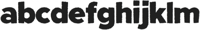 Fright Night Rough otf (400) Font LOWERCASE
