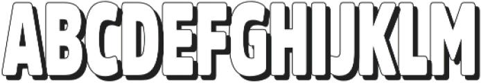 Fritz Retro otf (400) Font UPPERCASE