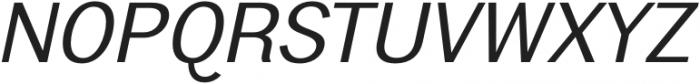 Frock Italic otf (400) Font UPPERCASE