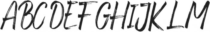 Fronds Getturing Regular otf (400) Font UPPERCASE