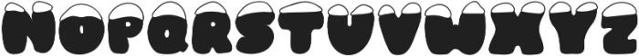 Frosty Joy otf (400) Font UPPERCASE