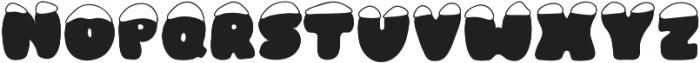 Frosty Joy otf (400) Font LOWERCASE