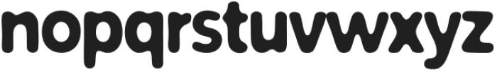 Fruity Smoothie Bold otf (700) Font LOWERCASE