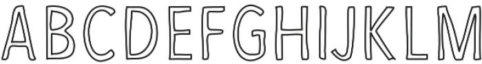 FruityPro ttf (400) Font UPPERCASE