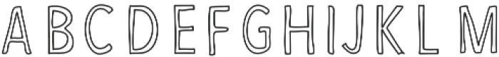 FruityPro ttf (400) Font LOWERCASE