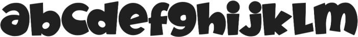 Fruitz otf (400) Font LOWERCASE