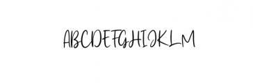 Frederica.ttf Font UPPERCASE