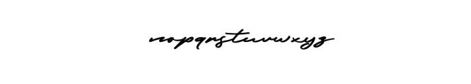 Frederick.otf Font LOWERCASE