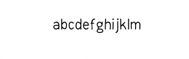 FreeHand Font Font LOWERCASE
