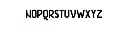 Freudian One.ttf Font UPPERCASE