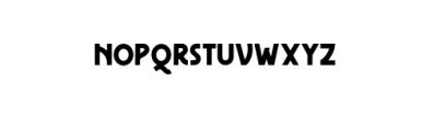 Freudian One.ttf Font LOWERCASE