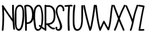 Freddy Regular Font UPPERCASE