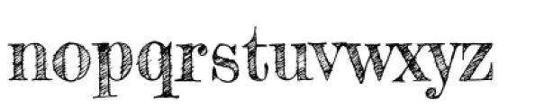 Fredericka the Greatest Font LOWERCASE