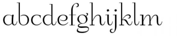 Friendly Roman Font LOWERCASE