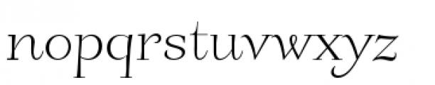 Friendly Slanted Font LOWERCASE