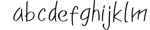 Franklin Family 1 Font LOWERCASE