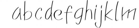 Franklin Family Font LOWERCASE