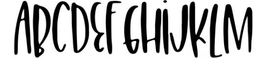 Freaky Fantastic Font LOWERCASE