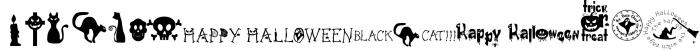Freaky Halloween Font UPPERCASE