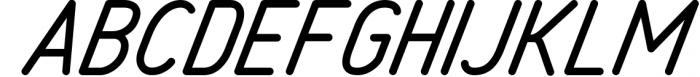 Freeday Script & Sans Font 1 Font UPPERCASE
