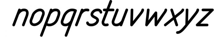 Freeday Script & Sans Font 1 Font LOWERCASE