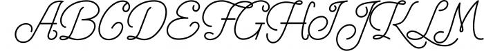 Freeday Script & Sans Font 3 Font UPPERCASE