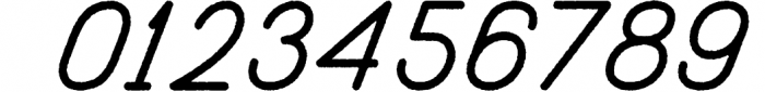 Freeday Script & Sans Font 4 Font OTHER CHARS